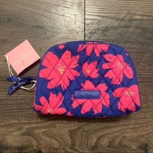 Vera Bradley Art Poppies Cosmetics Makeup Bag NWT